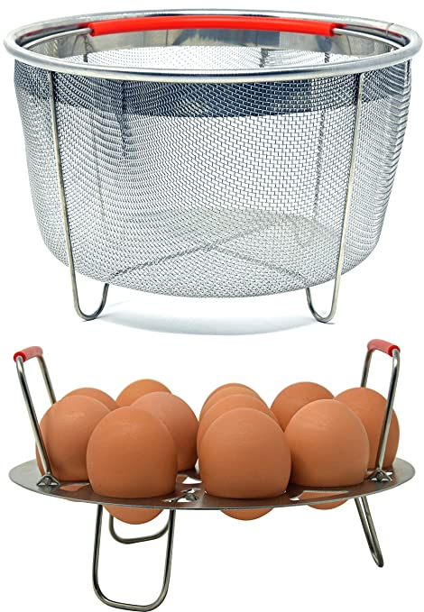 Amazon.com: Salbree - Colador de acero inoxidable para cesta ...