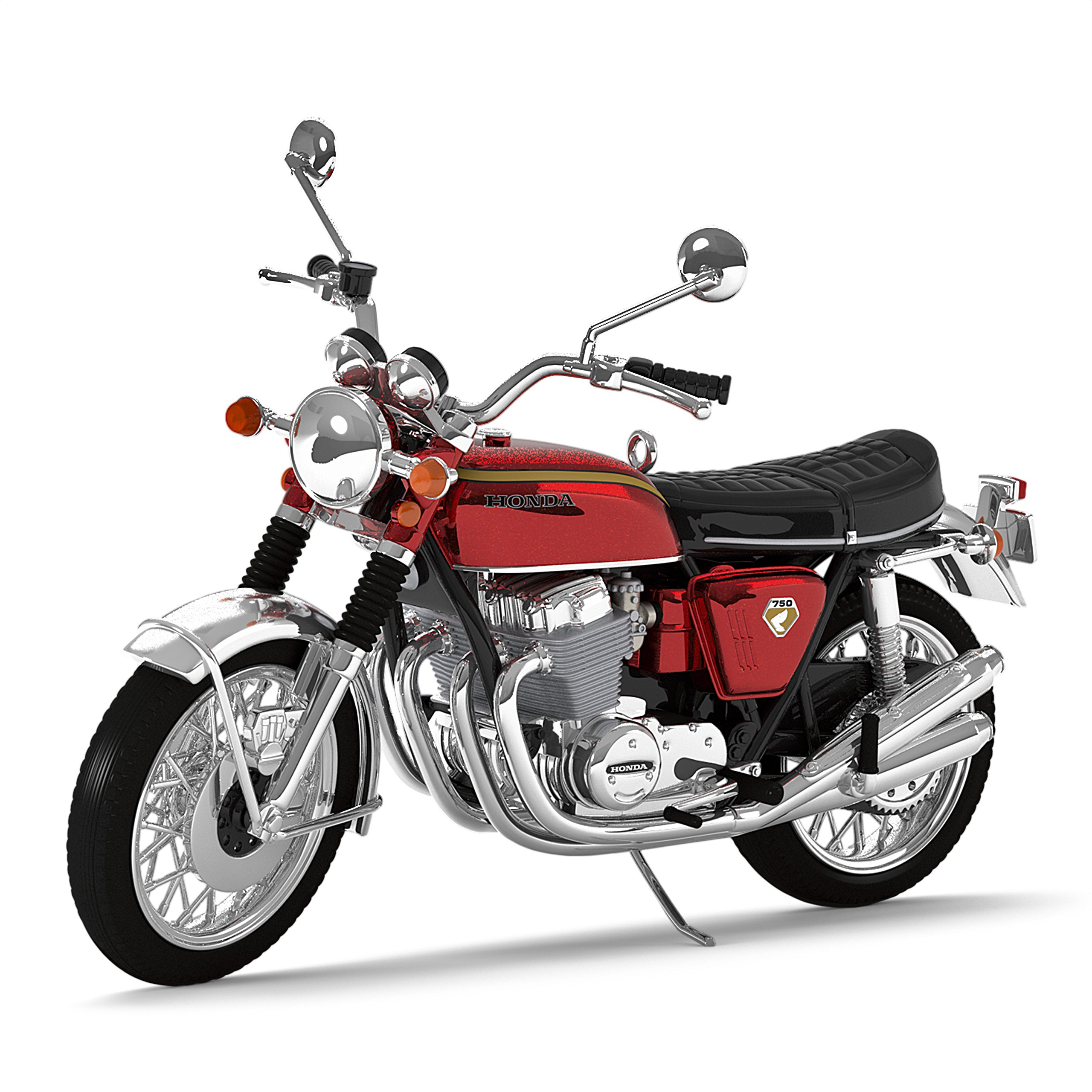 Hallmark Keepsake Christmas Ornament 2018 Year Dated, Honda Motorcycles 1969 CB750, Metal by Hallmark