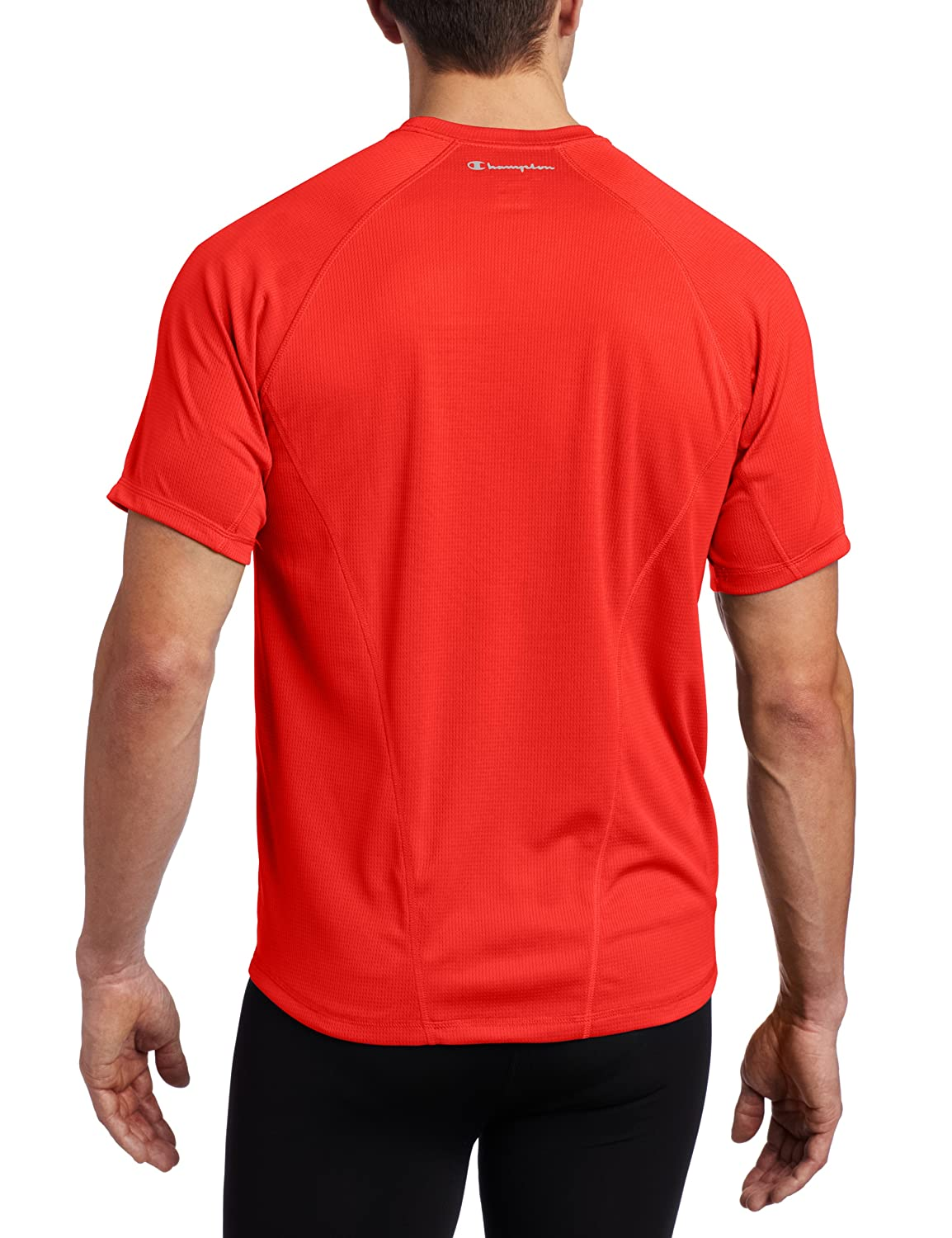 77924f5e2f18 Champion Men s Double Dry Training Tee at Amazon Men s Clothing store   Athletic T Shirts