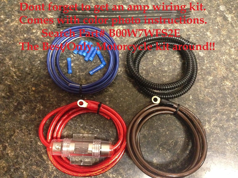 Harley batwing amp mount pre drilled for rockford fosgate pbr300x2 pbr300x4