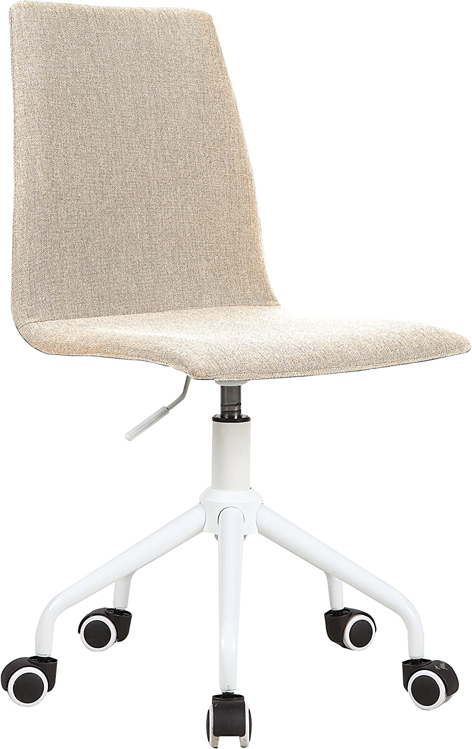 Urban Shop Linen Office Chair, Beige