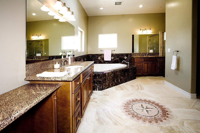 Bathroom Floor Song Marble Mosaic Stone Medallion Floor Wall Art Tile Ph B 5 36