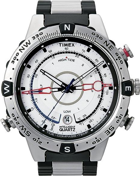 deaaed3882b7 Timex Men s T2N722 Intelligent Quartz Adventure Series Tide Temp Compass  Bracelet Watch  Amazon.ca  Watches