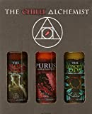 The Chilli Alchemist The Smoke Potion  The Philosopher's Dew  Purus chilli sauce box set