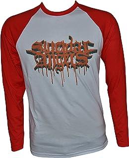 Value Merch Suicidal Angels Bloody Logo Baseball Longsleeve