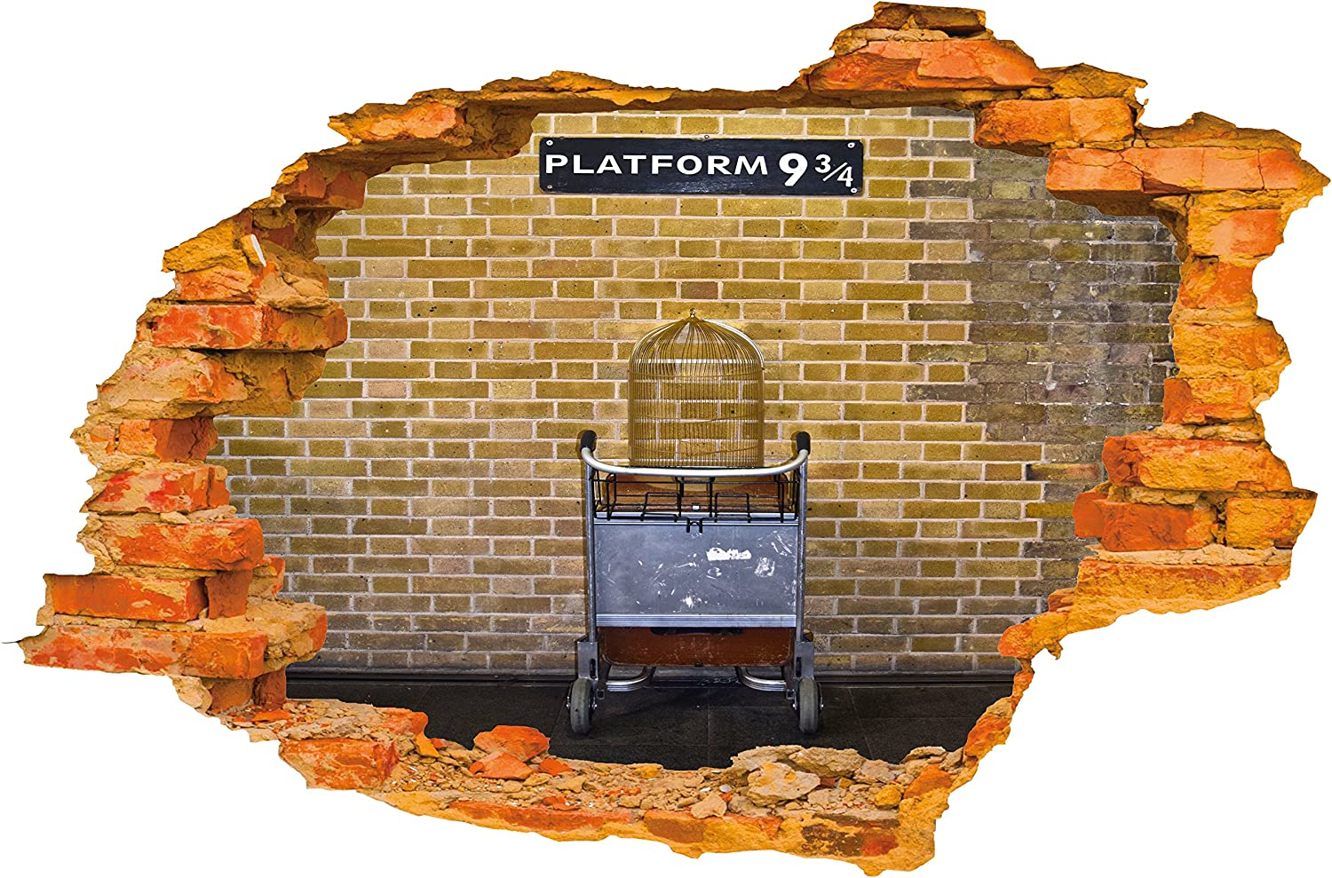 HARRY POTTER PLATFORM 9 AND 3//4 002 STICKER WALL ART GRAPHIC VARIOUS COLOUR