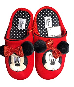 save up to 80% new york most popular Disney Minnie Mouse Pantoufle Chaussons Chaussettes ...