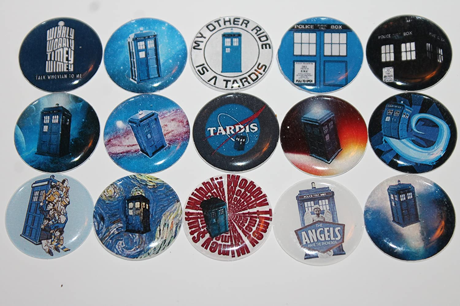 Refrigerator Magnets - Doctor Who Theme -Tardis