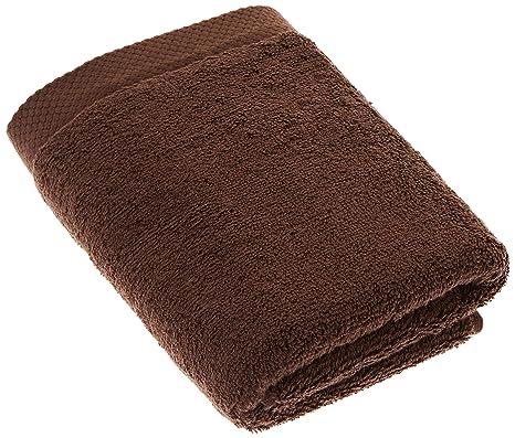 Lasa Pure Rizo Toallas de mano Bueno y barato., 100 % algodón, marrón