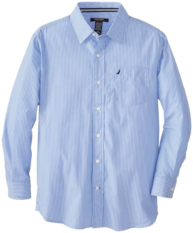 Nautica Big Boys' Long-Sleeve Striped Shirt Nautica Boys 8-20 N871107