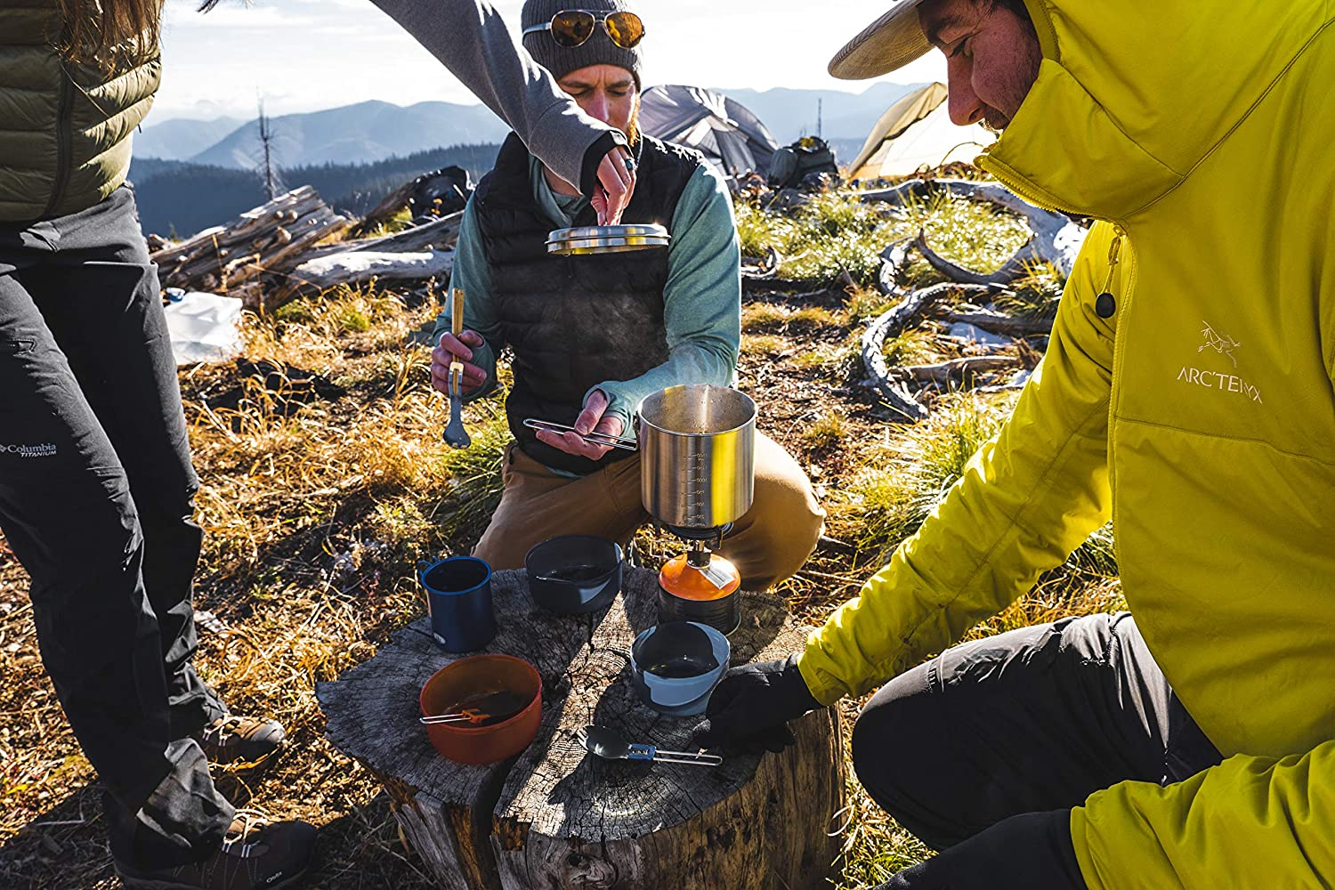 Gsi Outdoors Glacier Stainless Dualist Cooking System