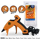 Gorilla 8401509 Hot Glue Gun and Sticks, 30 ct