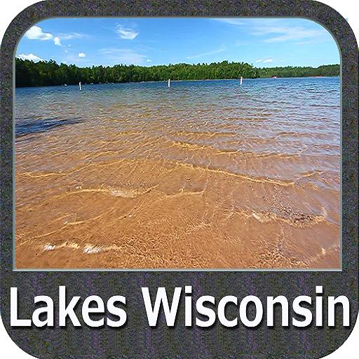 Wisconsin Lakes Gps Charts (Fishing Gps Software)