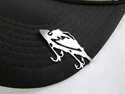 cb9d7c30e531a7 Amazon.com : Hunting and Fishing Brim Clip Hat Clasp (Fishing Lure ...