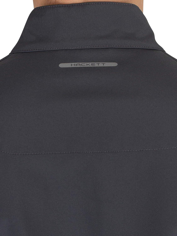 Hackett London Mens Aston Martin Racing Hybrid Jacket, Grey ...