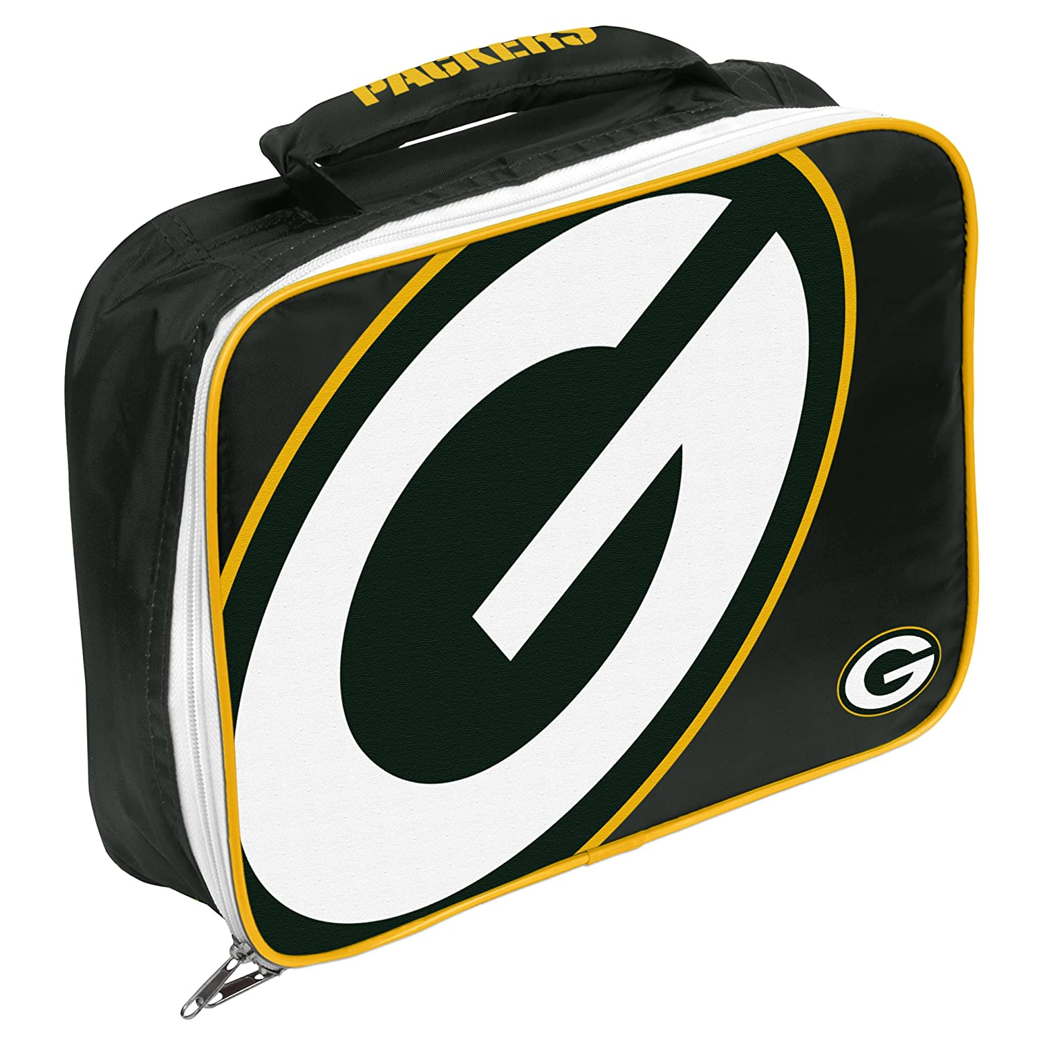 Forever Collectibles NFL Big Logo Flat Lunch Bag
