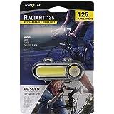 W Nite Ize Radiant 125 Rechargeable Bike Light 125 Lumen Bike Visibility Light