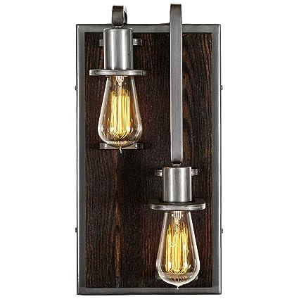 Amazon.com: Nobles 2-Light – Aplique de pared – Derecho ...