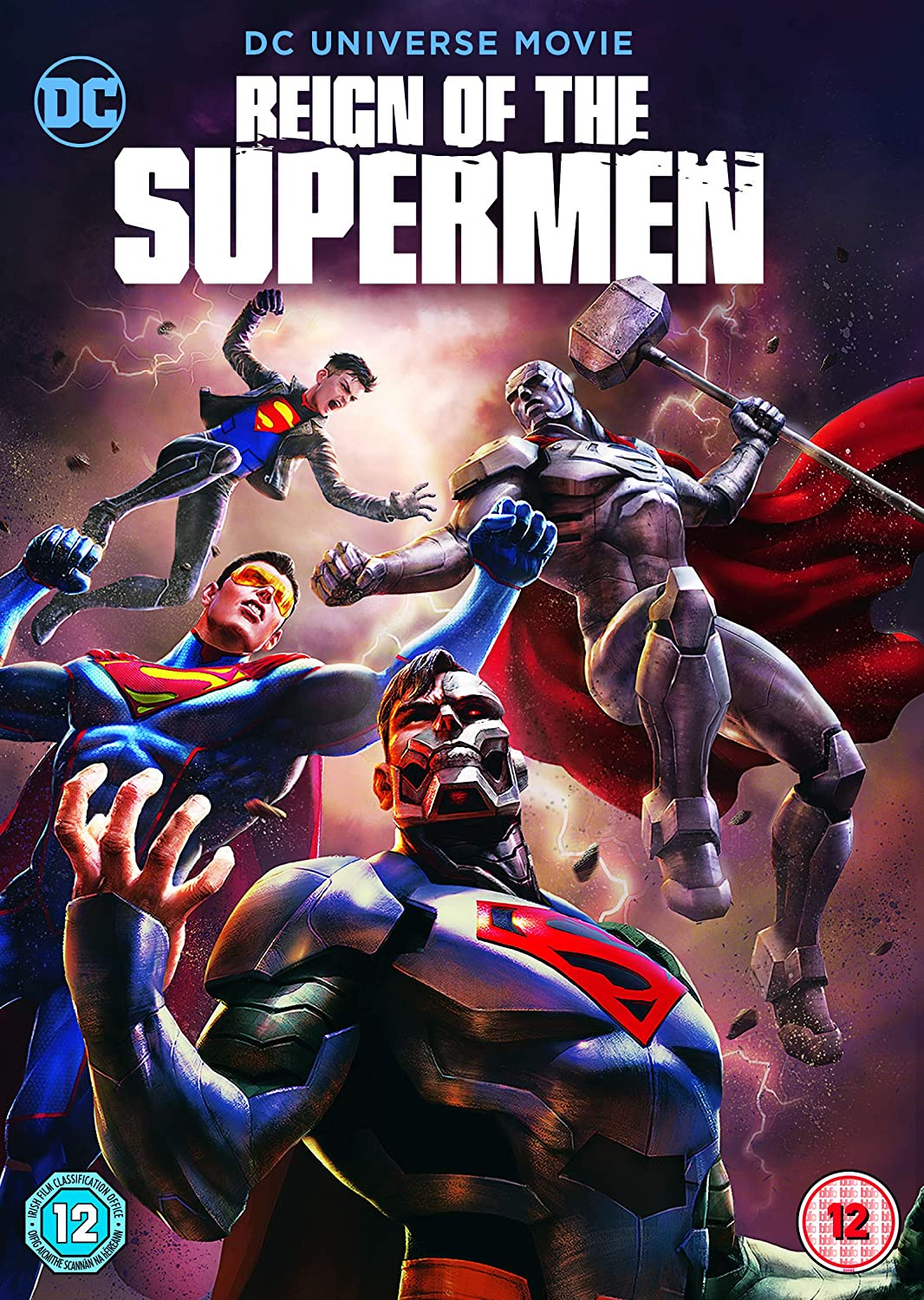 Reign Of The Supermen - Cover
