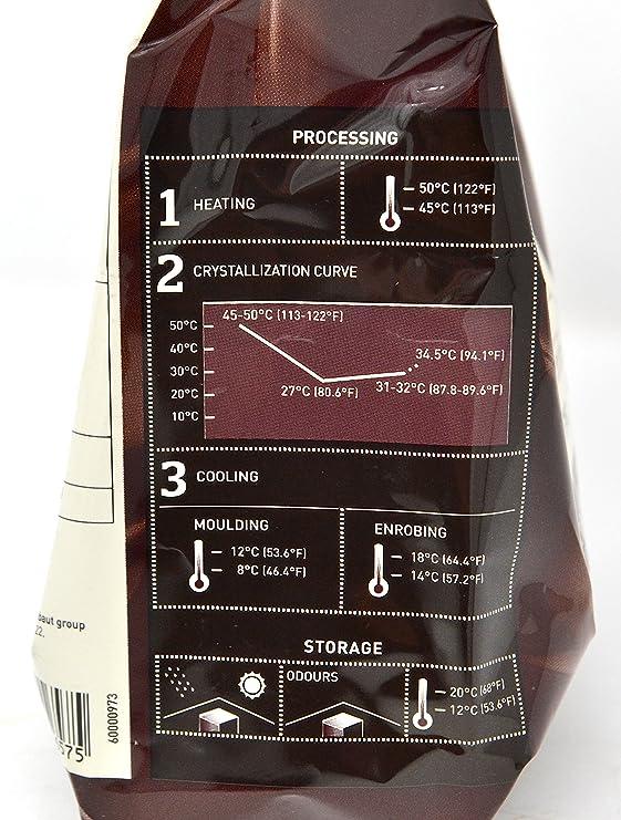 Callebaut N° 70-30-38 (70,5%) - Cobertura de Chocolate Negro Belga - Finest Belgian Dark Chocolate (Callets) 400g: Amazon.es: Alimentación y bebidas