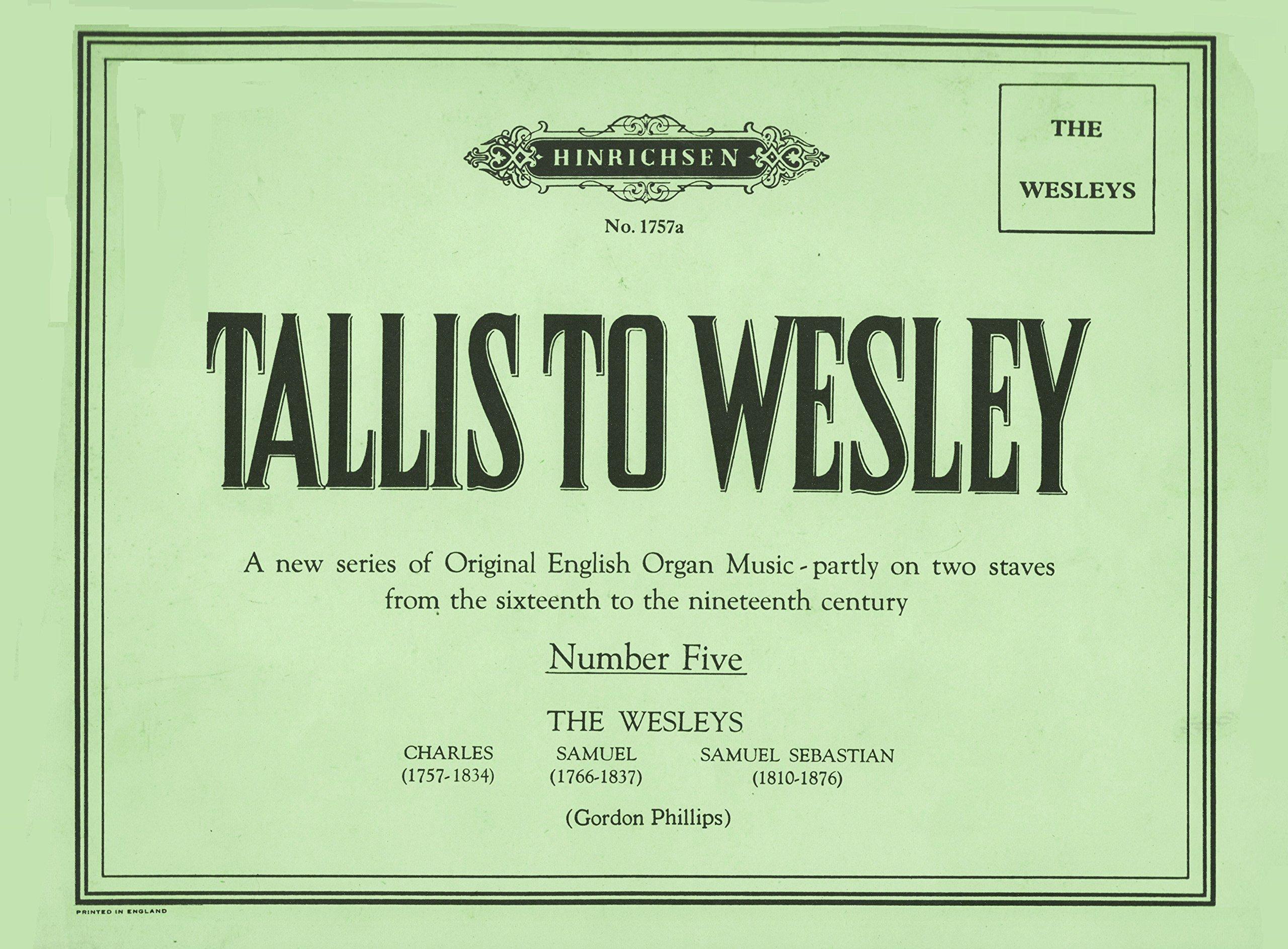 Image result for tallis to wesley volume 35