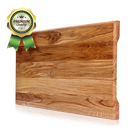 Wood Cutting Board. More Reliable Than Bamboo Cutting Board And More  Organic Than Plastic Cutting