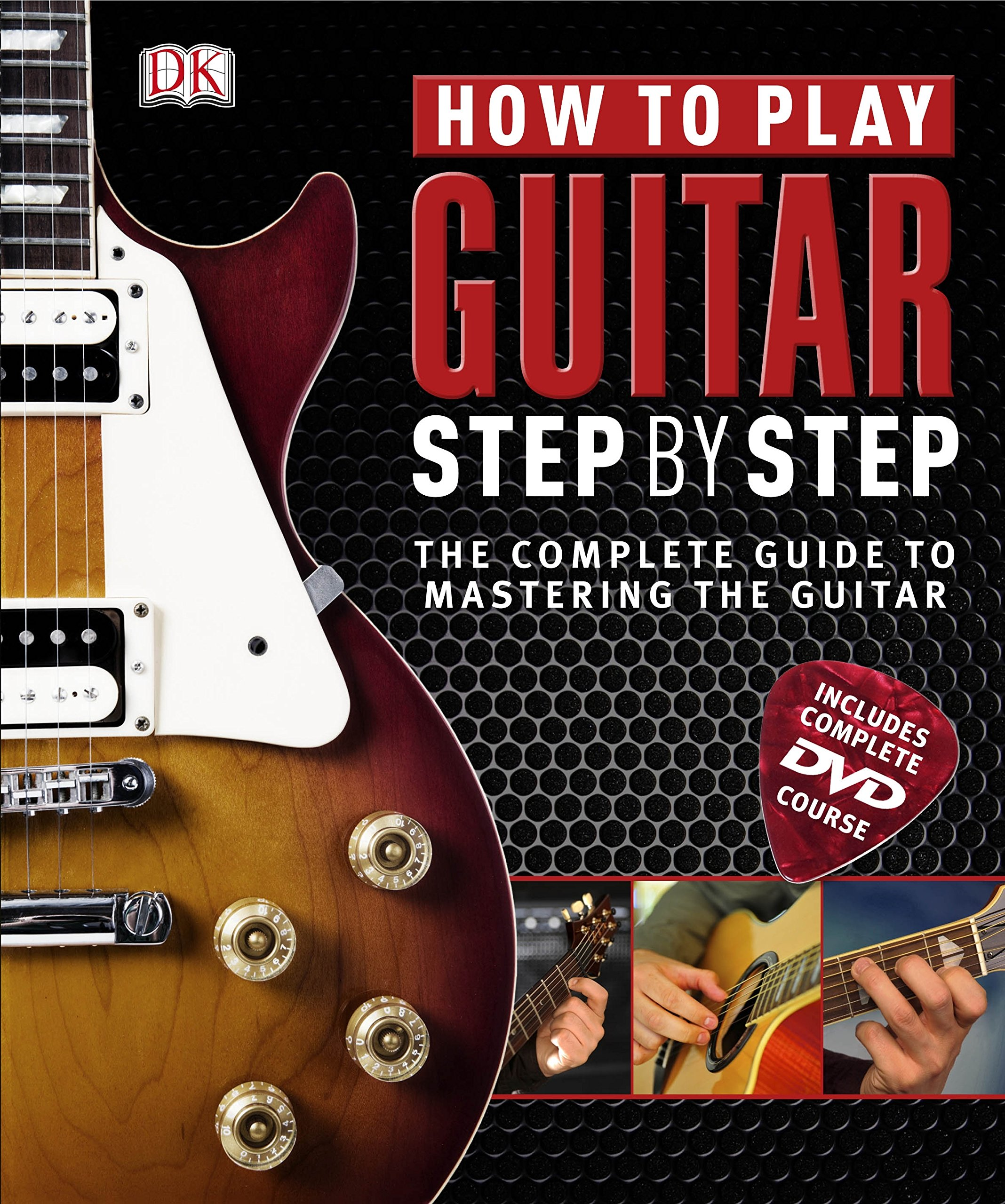 How To Play Guitar Step By Step Book Dvd Rom Amazon