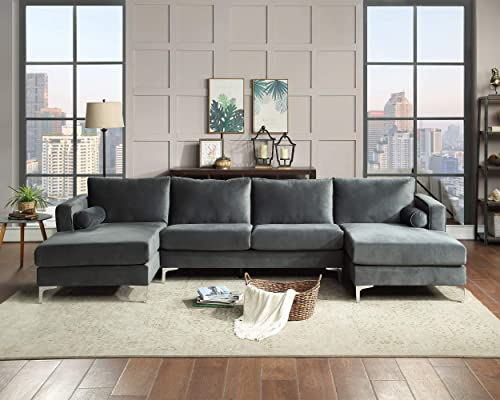 Sectional Sofa Sets Modern Elegant Velvet