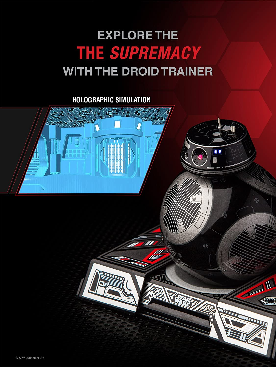 BB-9E App-Enabled Droid exclusive toy