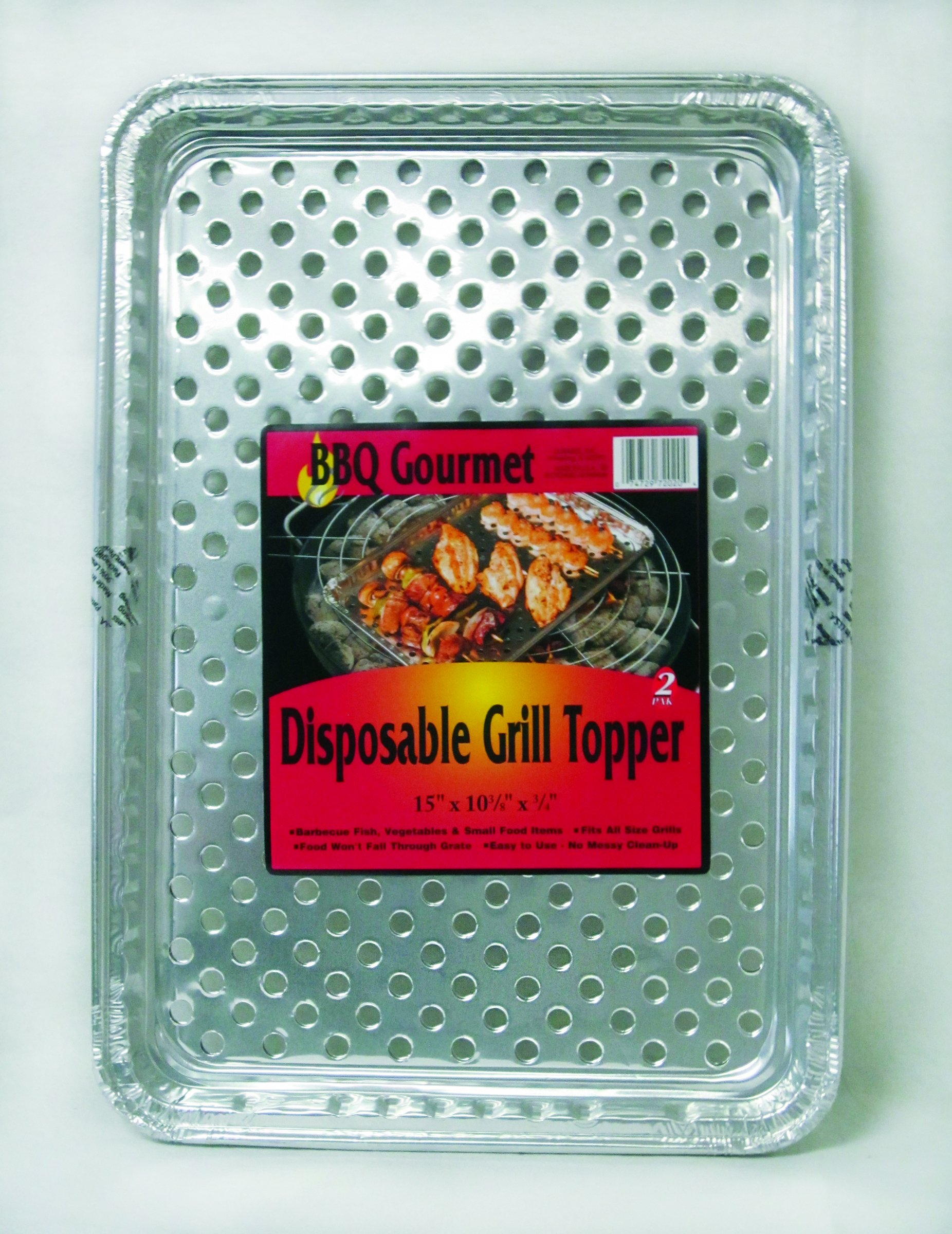 Durable Foil BBQ Gourmet Grill Topper Pan (Pack of 24) by Durable Packaging