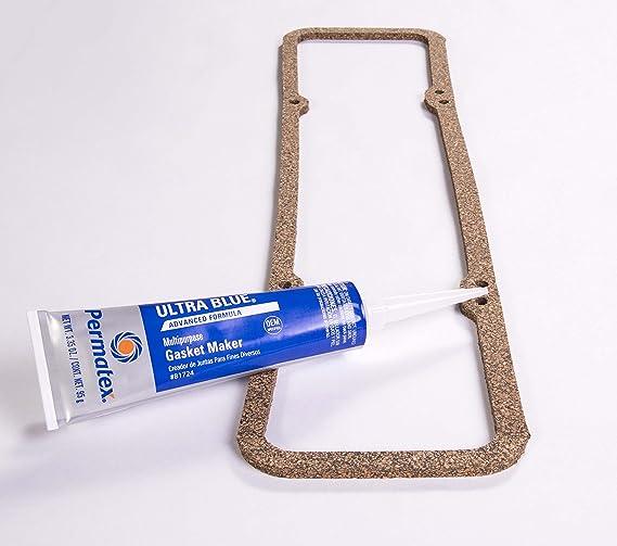 Permatex 81724 Sensor-Safe Ultra Blue RTV Silicone Gasket Maker, 3 35 oz   Tube