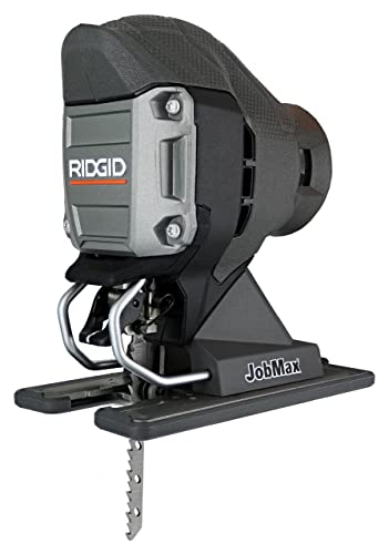 Ridgid R82234071B Compact Jig Saw Head for Job Max Multi Tools with Onboard Blower Port and Tool-Free Blade Changing System Tool Head Only, Job Max Not Included