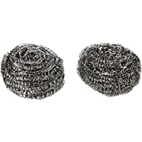 Vileda Glitzi Inox Dish Washing Metallic Spiral Scourer, 2 Pieces