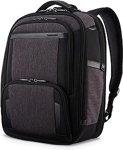 Samsonite Pro Slim Backpack, Shaded Grey/Black, One Size