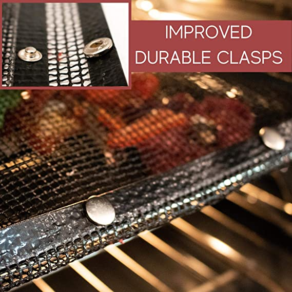 Non-Stick Mesh Barbecue Grilling Bag Pouch Case Basket Mat Good M BBQ Grill Y7H9
