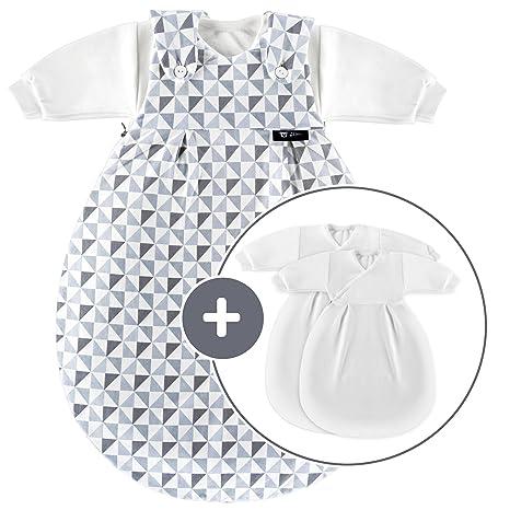 Alvi Baby Mäxchen Original / Saco de dormir bebé todo el año / 3 Piezas -