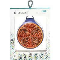 Logitech X100 Bocinas Portátiles con Bluetooth (Naranja)