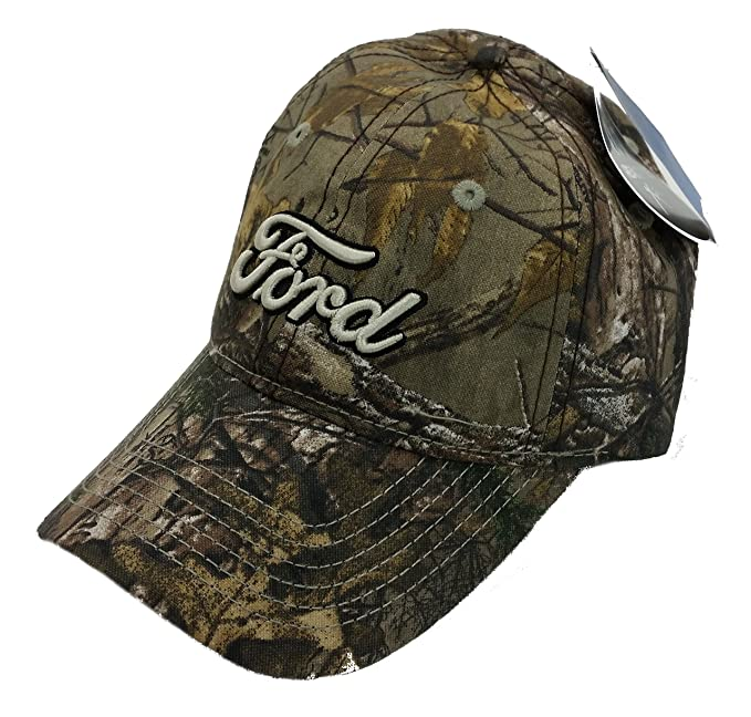 Image Unavailable. Image not available for. Color  Ford Officiall Licensed Realtree  Xtra Camo Script Hat 29459f66954c