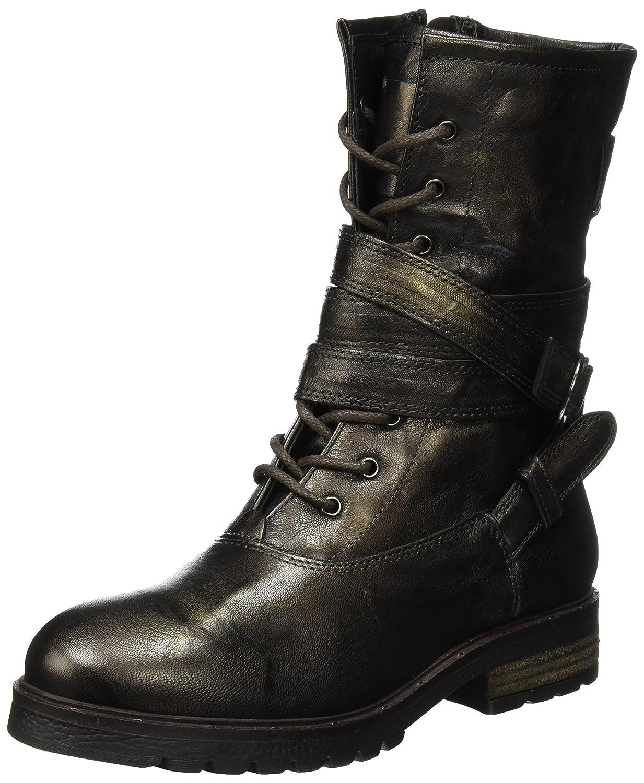 Mjus 190205-0201-6114, Botas Militares para Mujer41 EU|Marrón (Moka 6114)