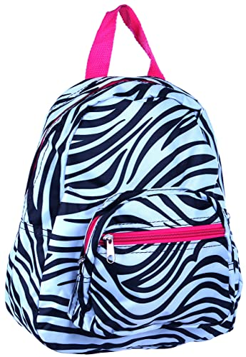Enimay Women's Girls Designer Print Mini Adjustable Travel Tote Purse Backpack