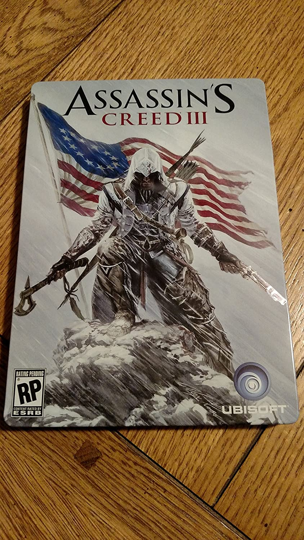 Amazon Com Assassin S Creed Iii Steelbook Case Video Games