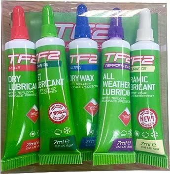 Weldtite TF2 bicicleta ciclo bicicleta cadena lubricante cera ...