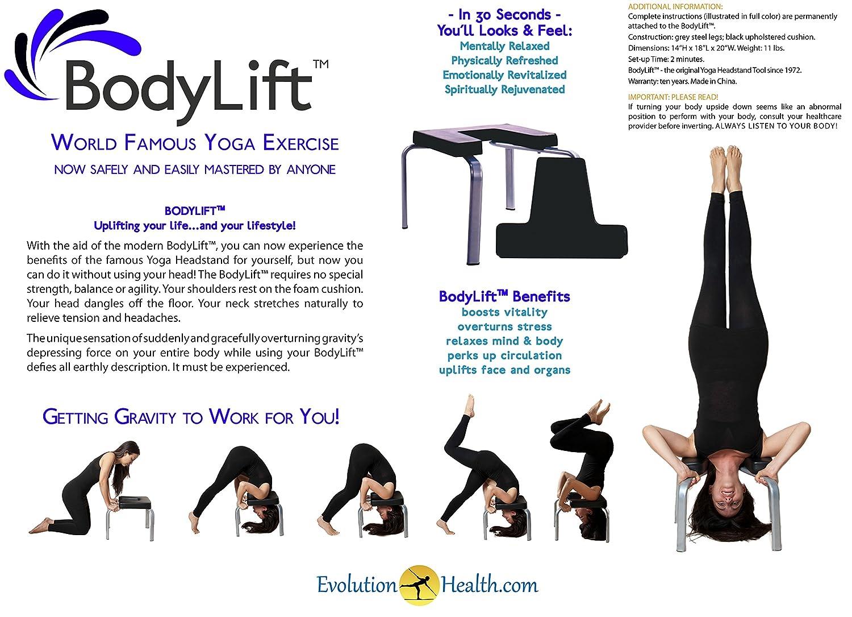 Evolution Health The Original headstander: Bodylift Headstand Bench/Yoga Chair EvolutionHealth