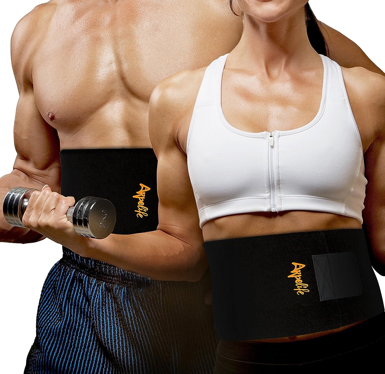 Faja reductora adelgazante para hombre y mujer ayuda a reducir cintura y
