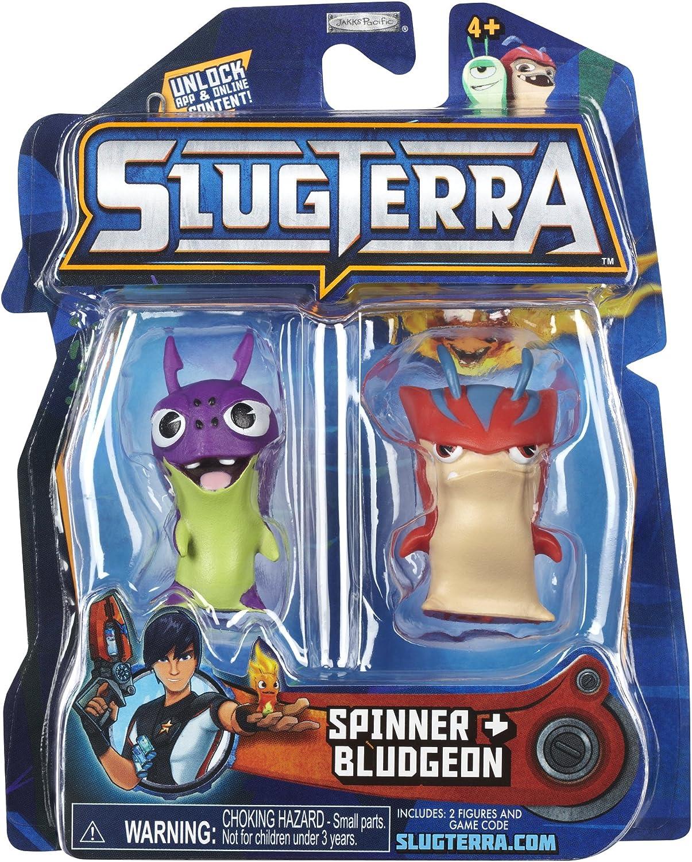 Slugterra Series 2 Spinner & Bludgeon Mini Figura 2-Pack: Amazon ...