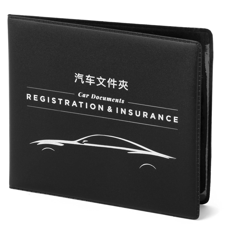 CAR Documents Holder CASE - Chinese Version - 汽車文件夾 - 汽車保险卡, 驾驶執照, 車輛登記卡等等, 只要放入这文件夾, 再擺進手套箱裡, 你就可安心開車了 驾驶執照 MacoodeCompany