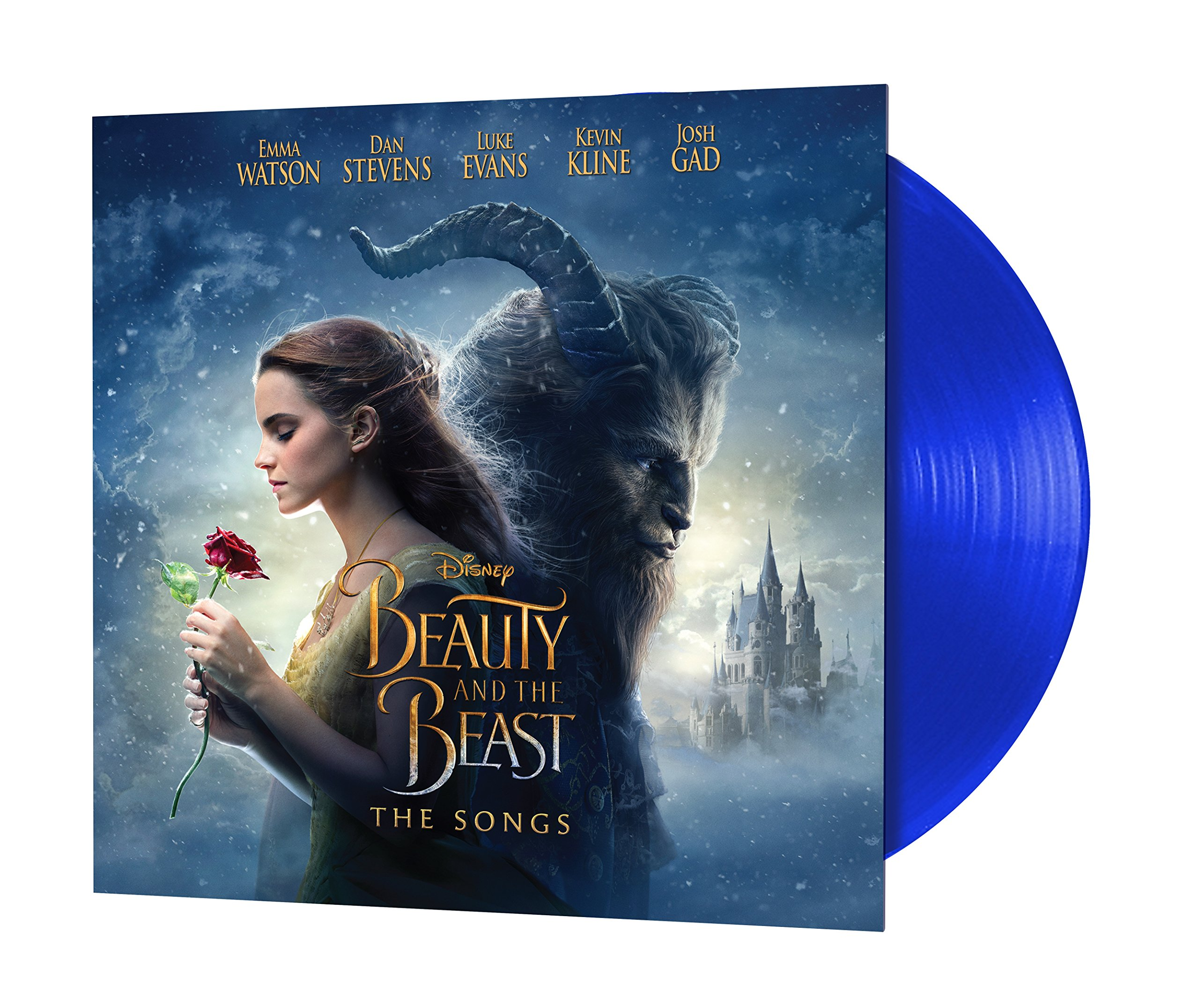 Beauty And The Beast: The Songs [LP][Blue] by Walt Disney Records