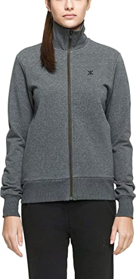 TALLA (talla de fabricante:Medium). One Piece High Neck Zip out Sudadera Deportiva Unisex Adulto
