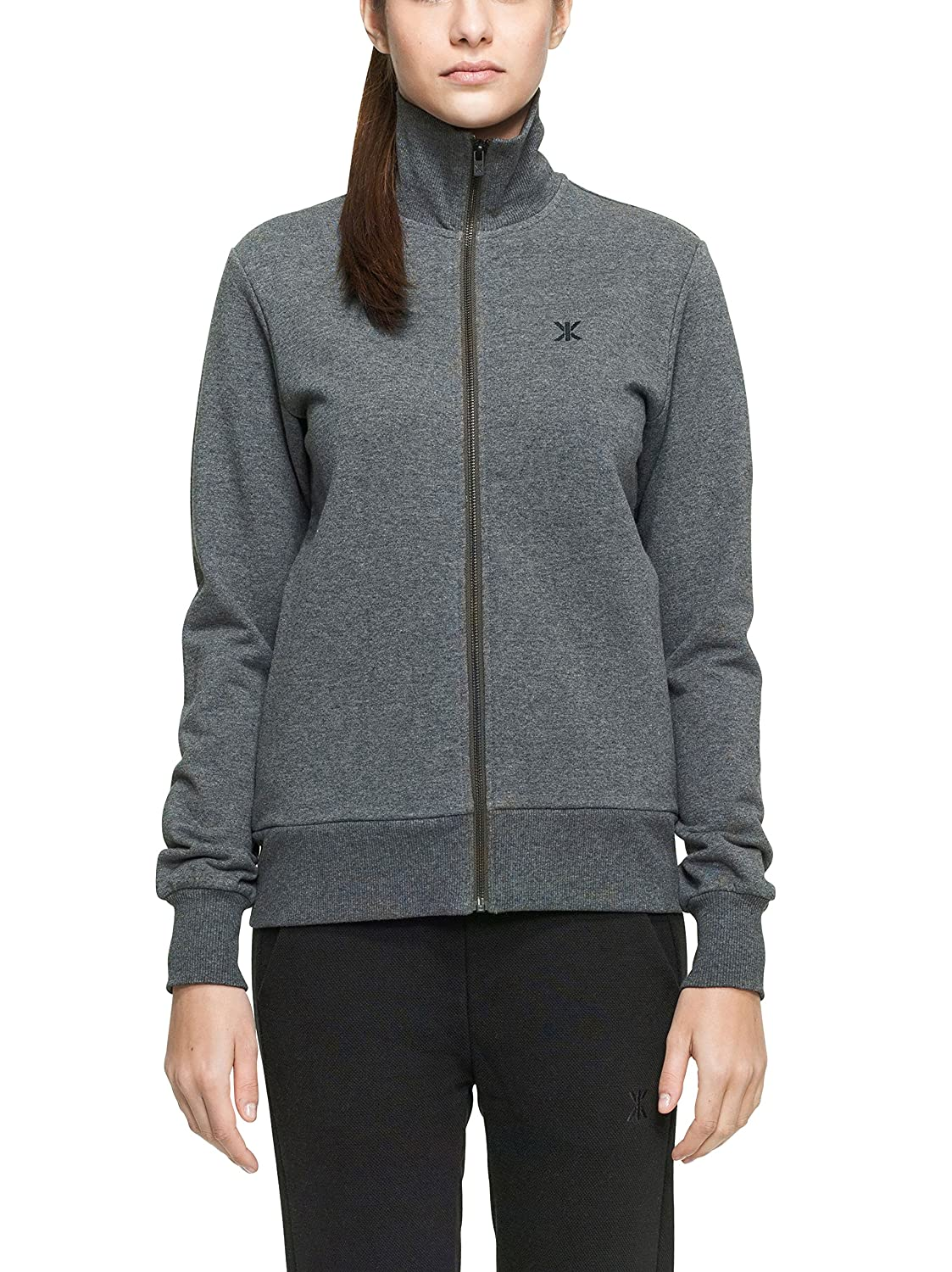 TALLA (talla de fabricante:X-Small). One Piece High Neck Zip out Sudadera Deportiva Unisex Adulto