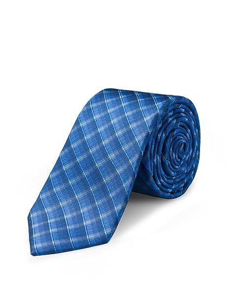 "NEW 100/% Silk Men/'s Neck tie /& hankie set skinny 2.5/"" light blue formal wedding"